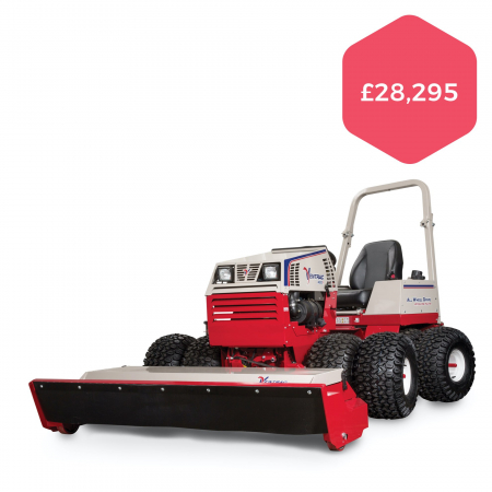 "Ventrac 4500Y with 58"" Tough Cut Deck"