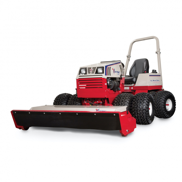 """Ventrac 4500Y with 58"""" Touch Cut Deck and Dual Wheels"""