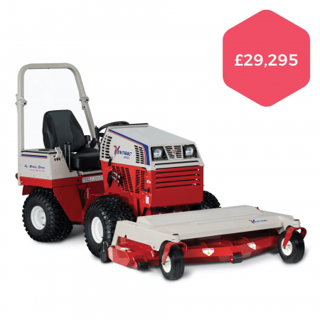 """Ventrac 4500Y with 72"""" Finishing Mower Deck"""