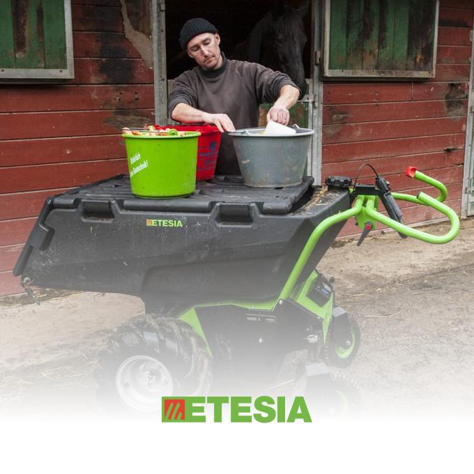 Etesia Electric Wheelbarrows at RT Machinery