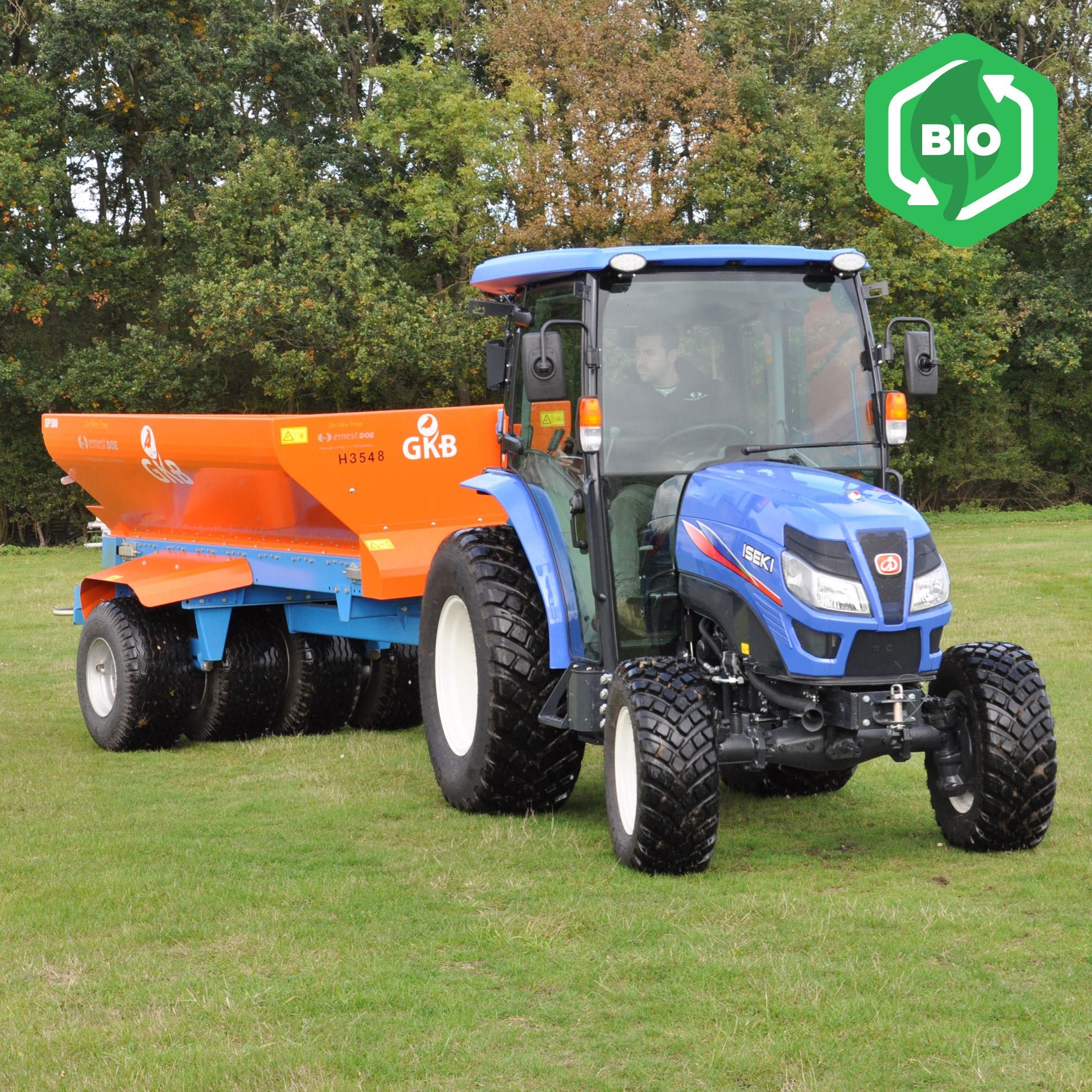 Iseki TG6557 PS Powerful Compact Tractor