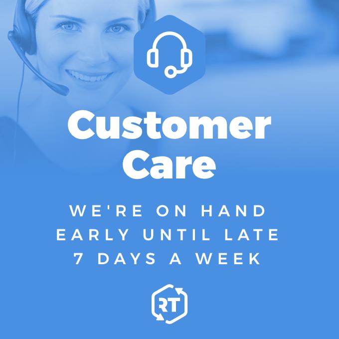 Customer Care at RT Machinery