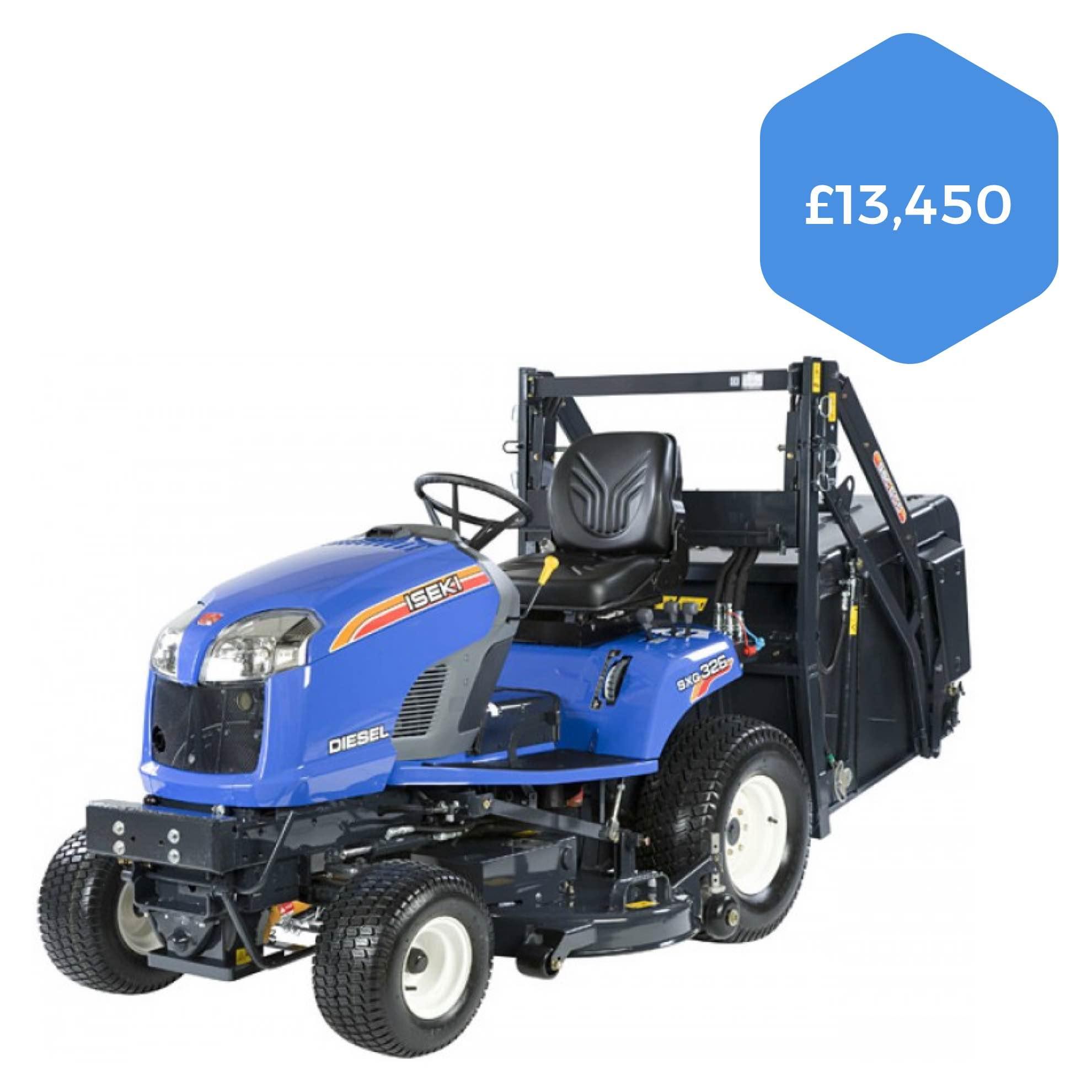 Isek SXG326 High-tip Diesel Ride-on Mower