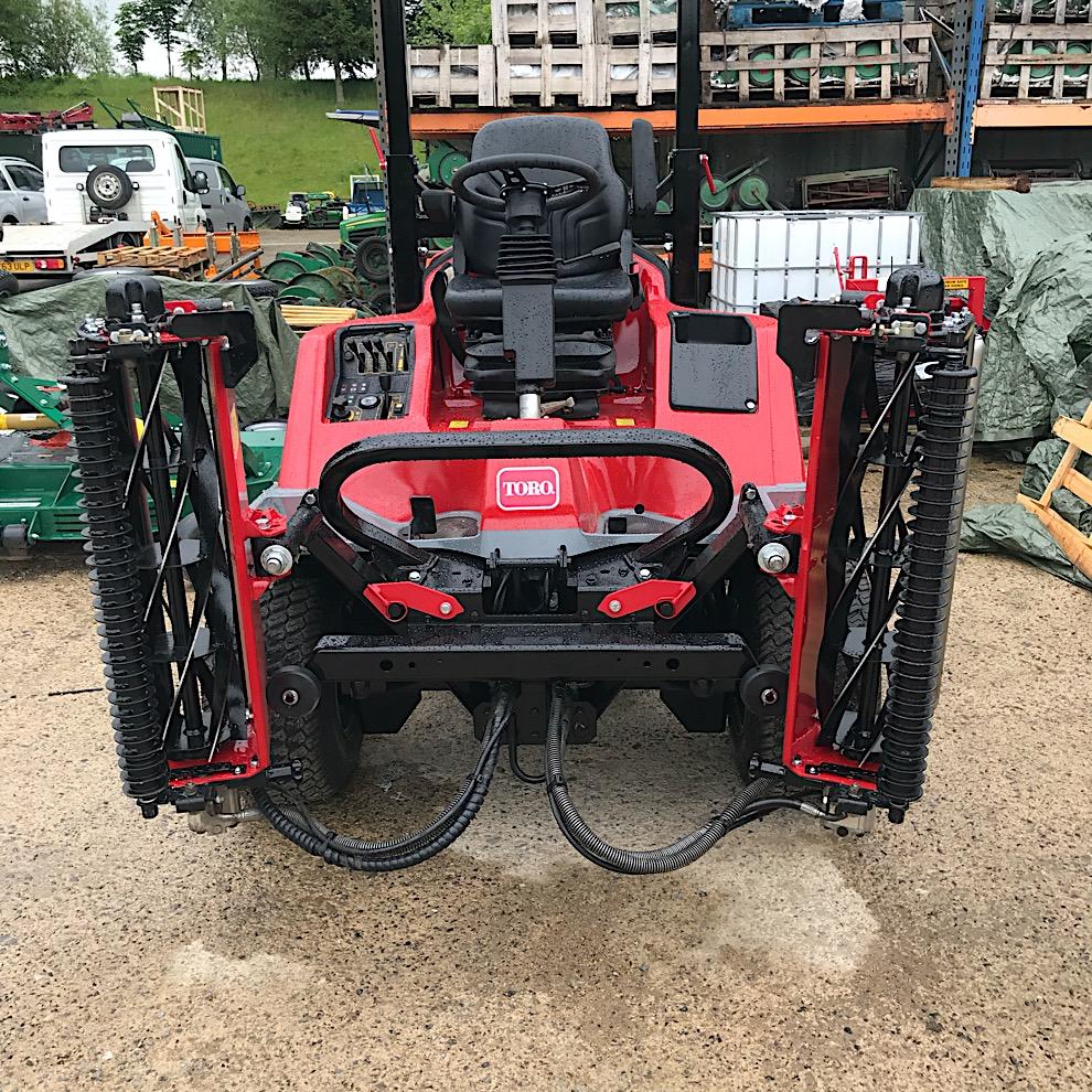 Used Toro LT3420 Triple Cylinder Mower