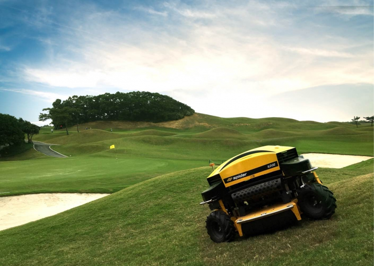 Spider Slope Mowers