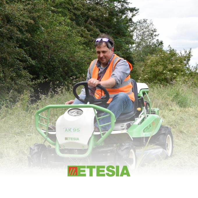 Etesia Attila Ride-on Brushcutters