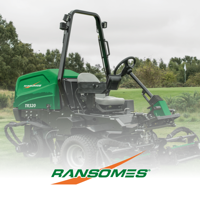 Ransomes TR320 Triple Mower