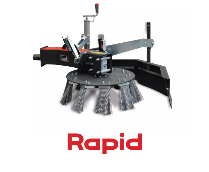Rapid Weed Brush Attachment