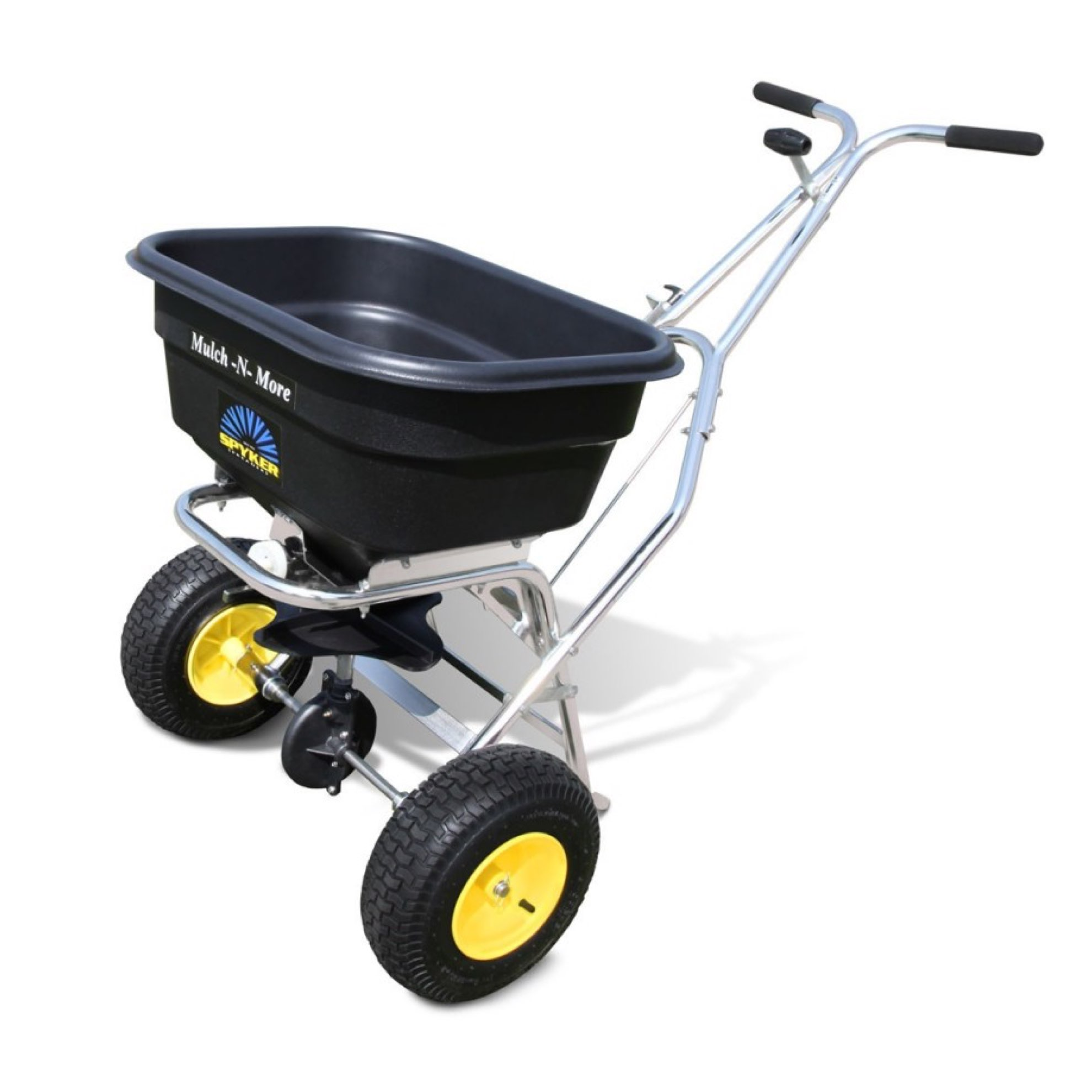 Spyker S60-12020 120lb Pro Series Mulch-N-More Sport and Lawn Spreader