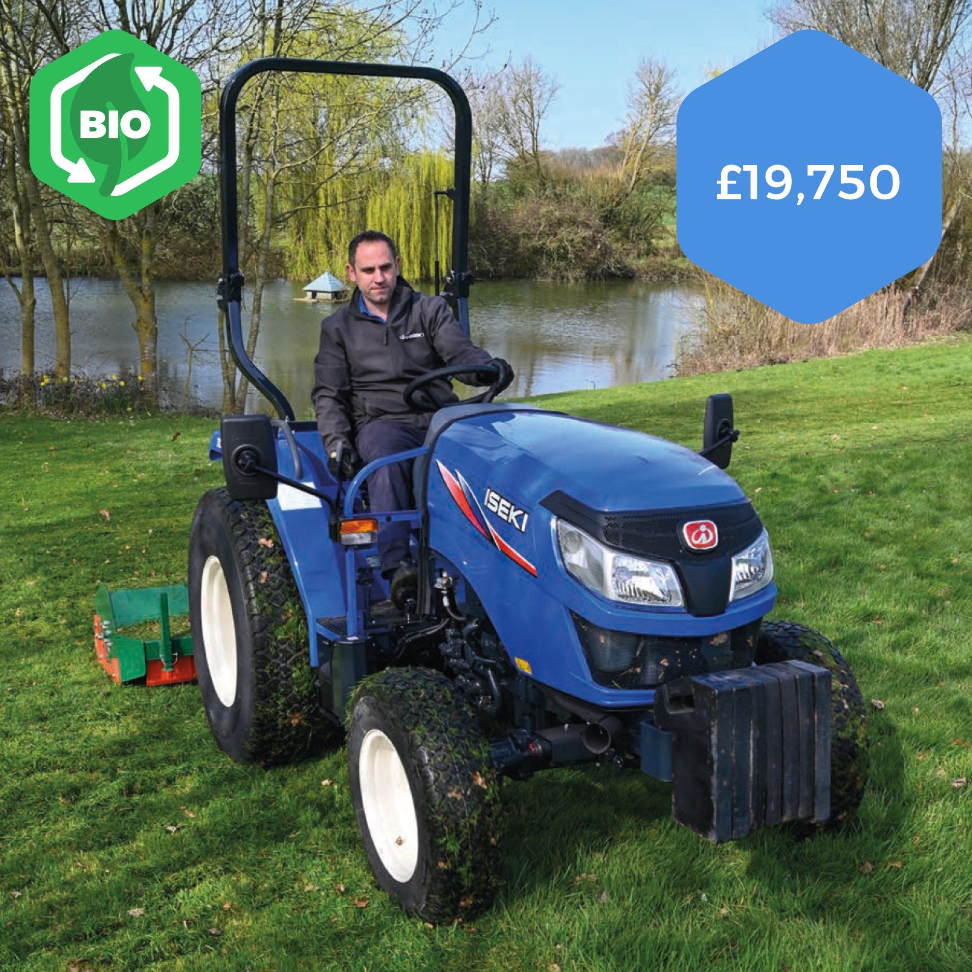 Iseki TLE4550 Compact Tractor