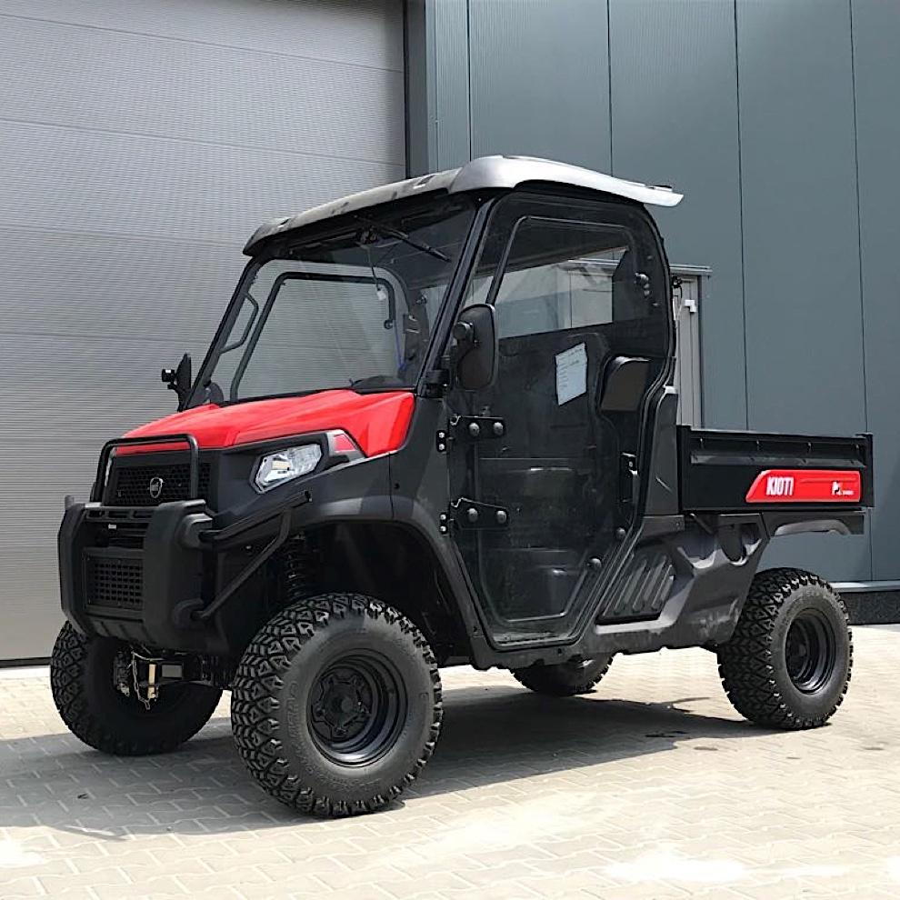 Kioti K9 Utility Vehicle with Full Cabin