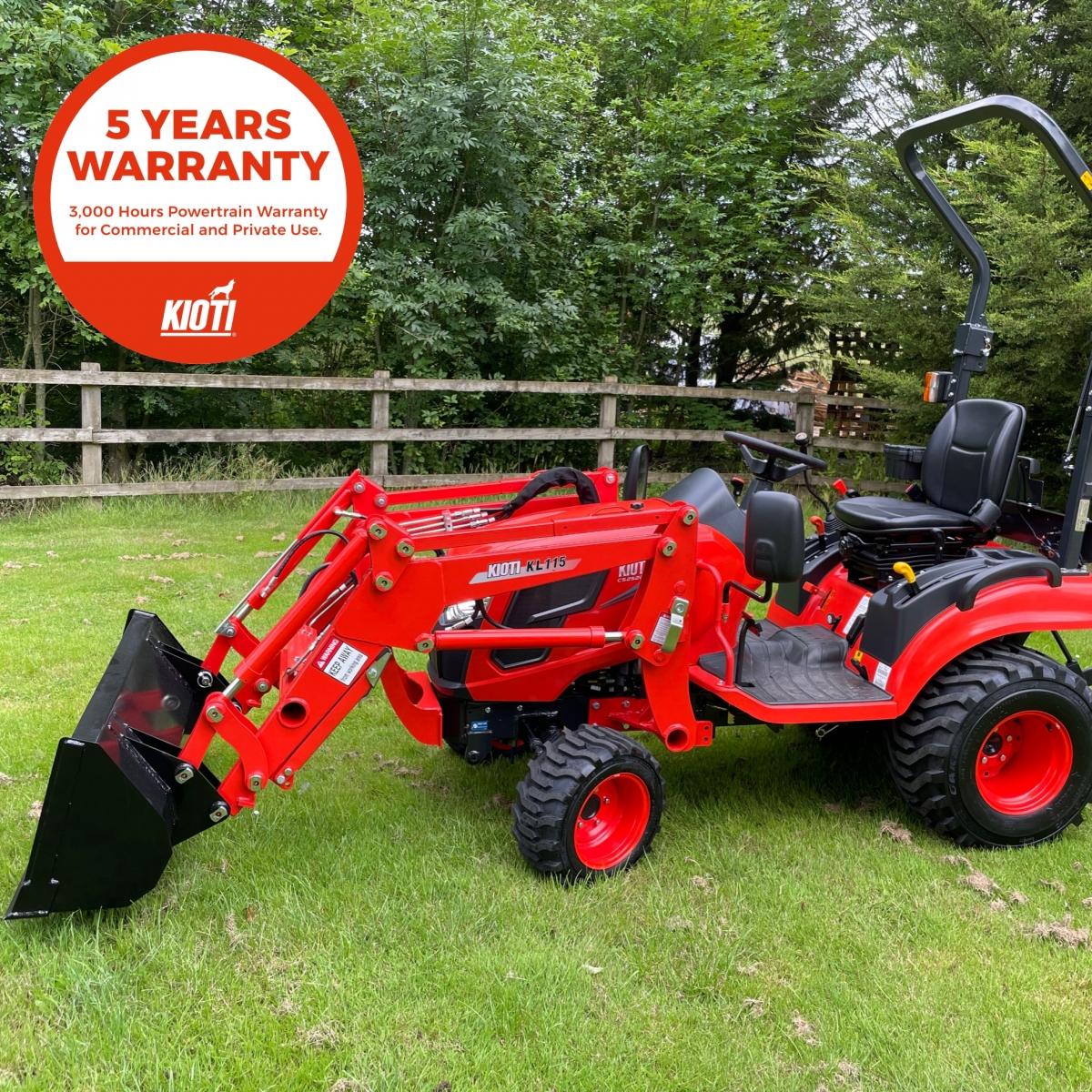 Kioti CS2510 HST Compact Tractor