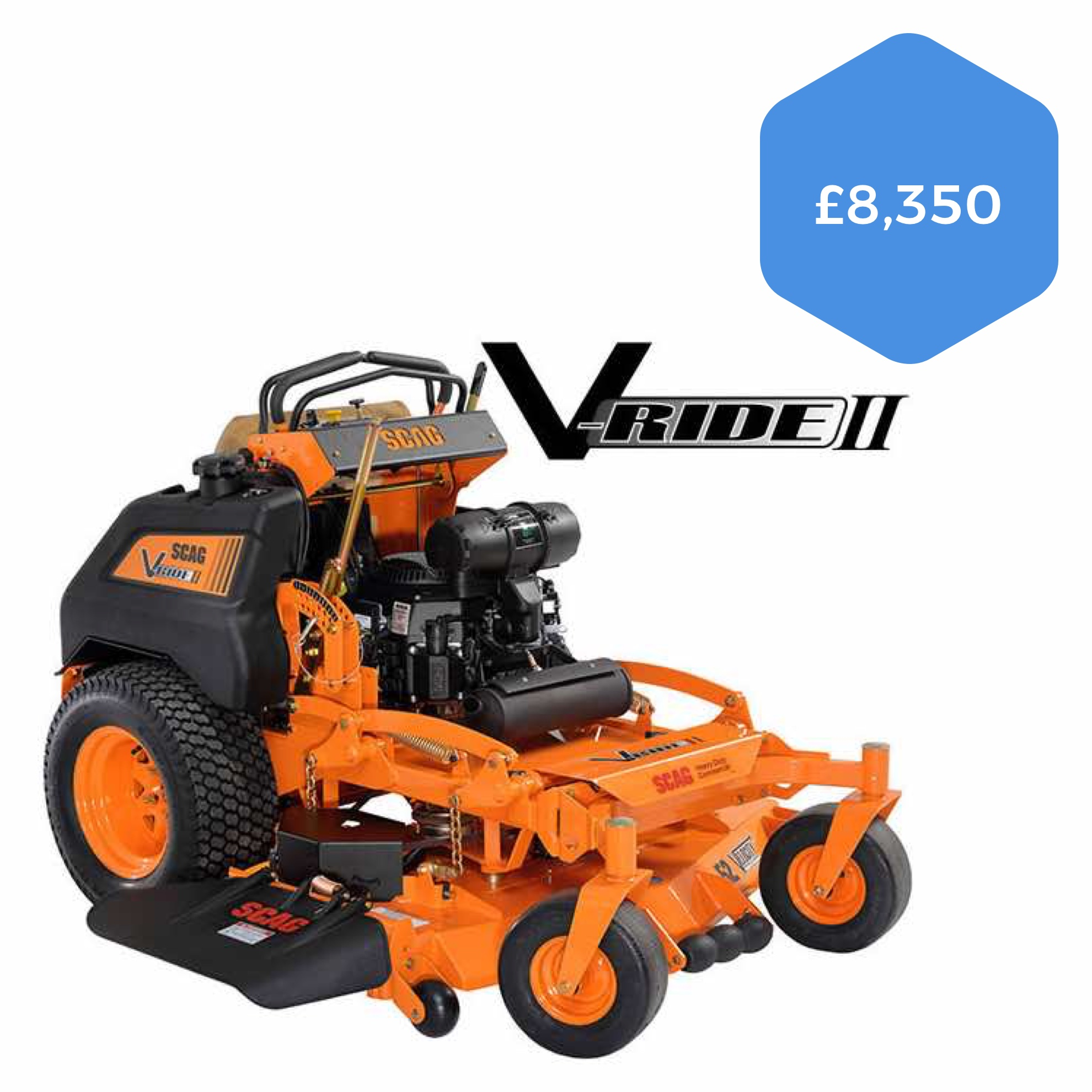 """Scag V-Ride II 32"""" Stand-on Mower"""