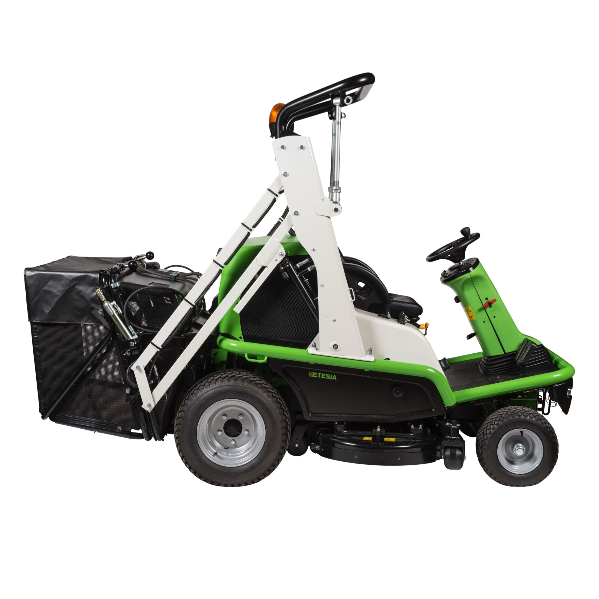 Etesia Hydro 124DL Ride-on Cut and Collect Mower