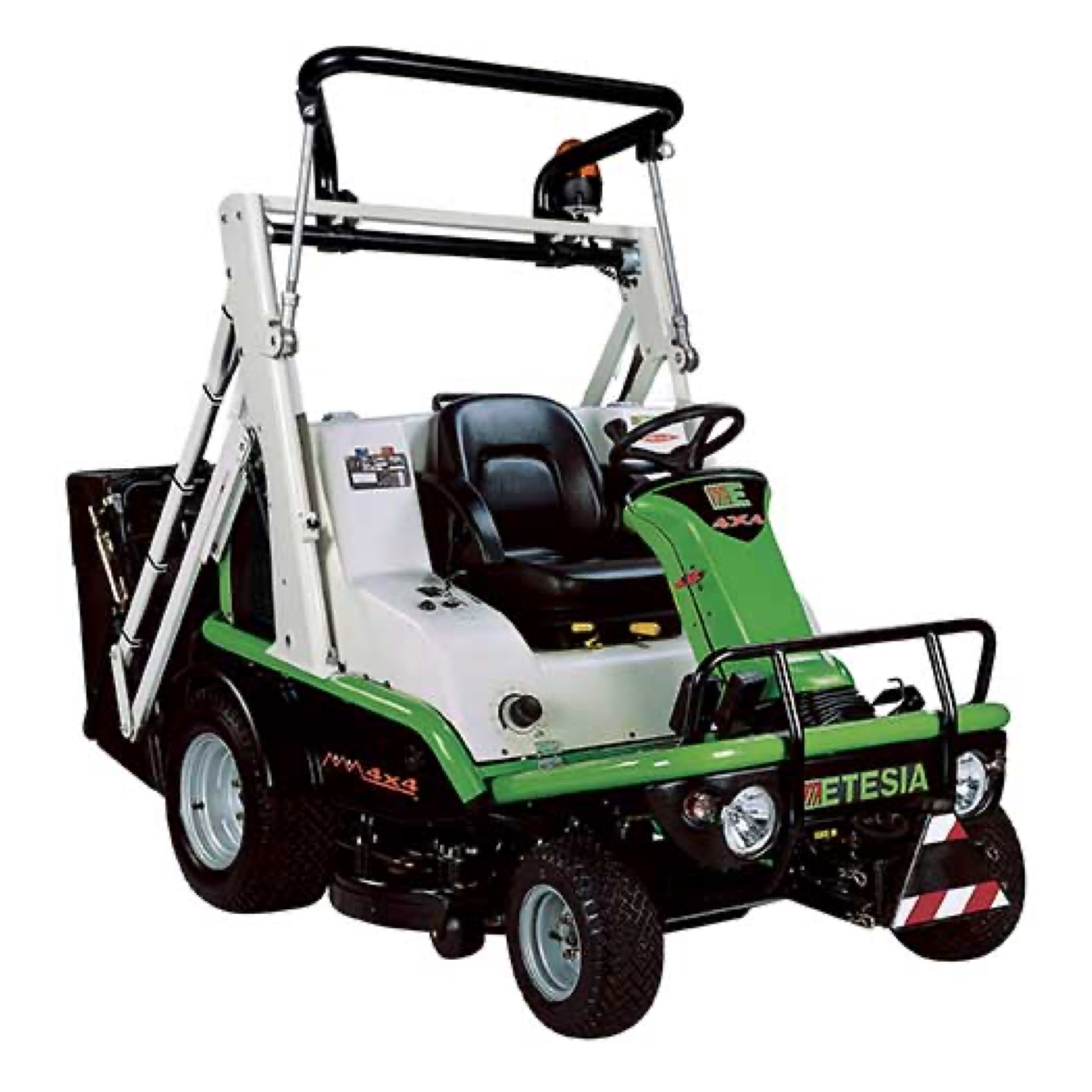 Etesia Hydro 124DX Ride-on Cut and Collect Mower
