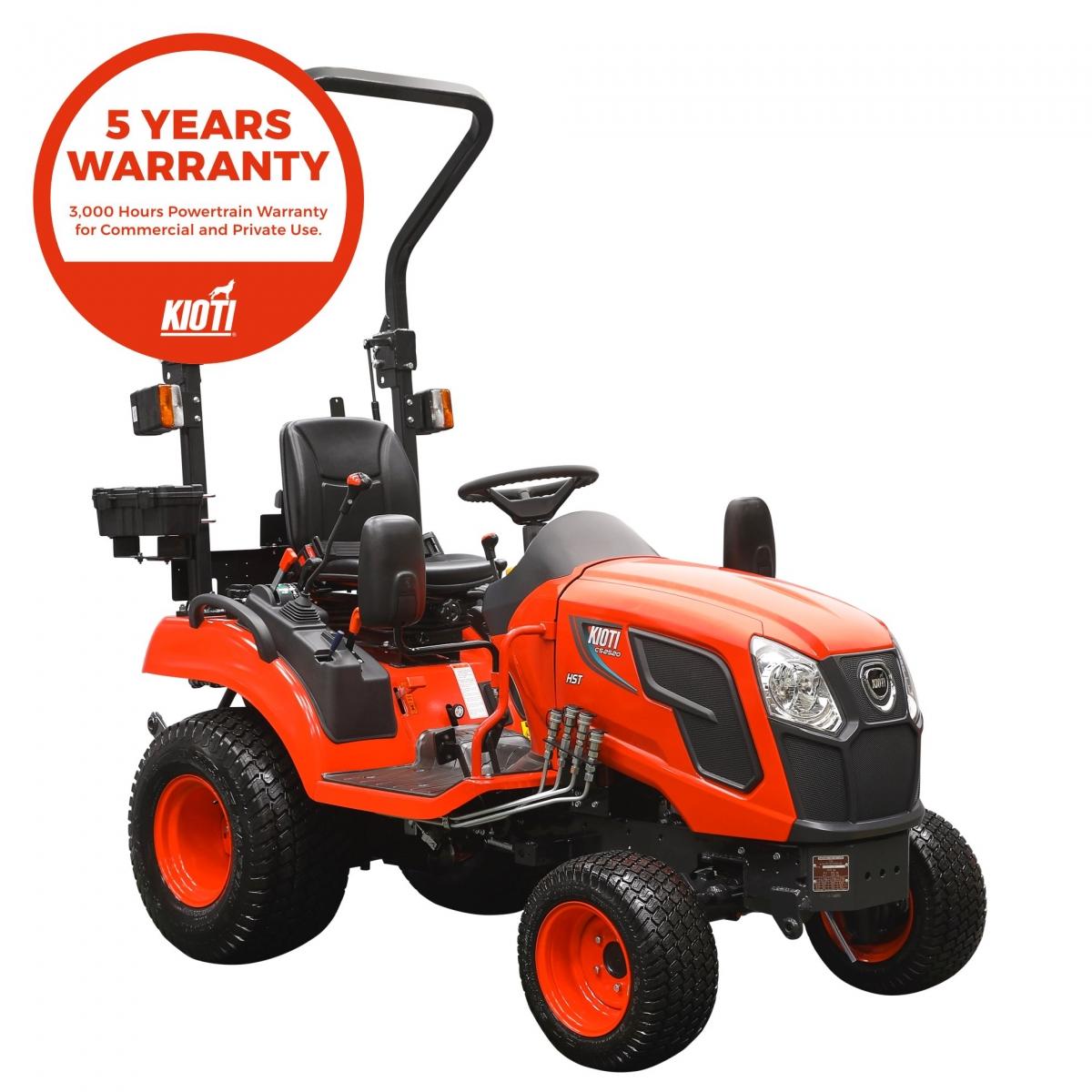 Kioti CS2520 Estate and Garden Tractor